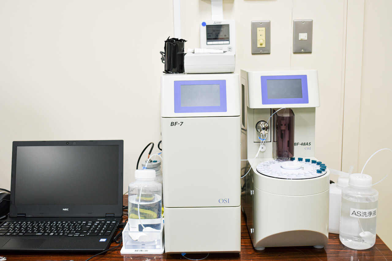 Multifunctional biosensor (Analysis for pyruvic acid and glucose)